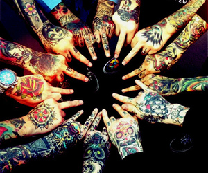 hands and Tattoos image