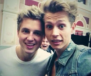 the vamps, james mcvey, and marcus butler image