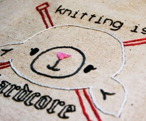 embroidery, knitting, and sheep image