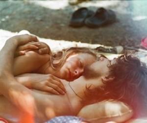 70s, hippie, and sleep image