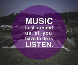 music and listen image