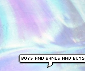 band, boys, and header image