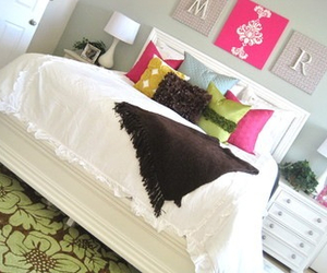 bedroom, rooms, and white image