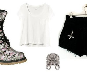 asos, boots, and cross image
