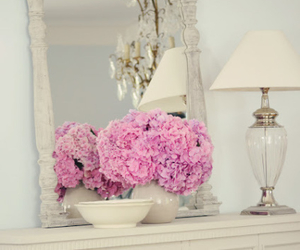 flowers, home, and pink image