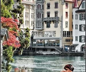 switzerland and river image