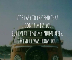 love, phone, and quote image