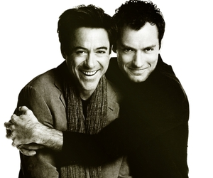 adorable, jude law, and robert downey jr. image