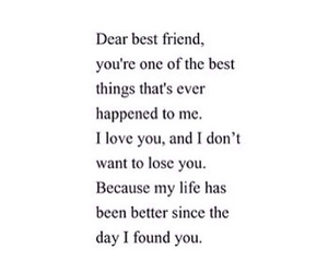 quotes, tumblr, and friend quotes image