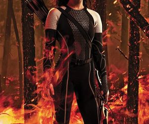 catching fire, katniss everdeen, and hunger games image