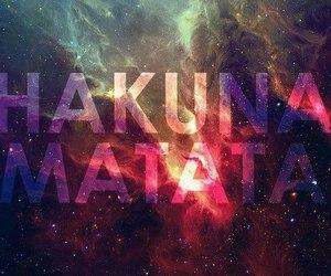 hakuna matata and swag image