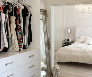 bedroom, white, and room image