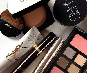 chanel, high end, and make up image