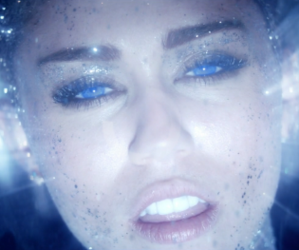 miley cyrus and real and true image