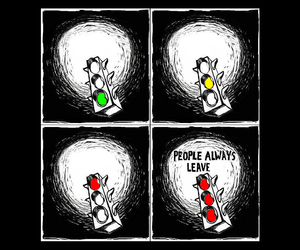 always, leave, and people image