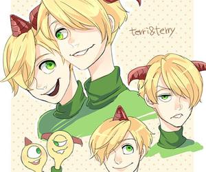 blond, boys, and fanart image