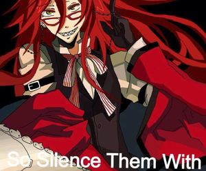 black butler and grell sutcliff image