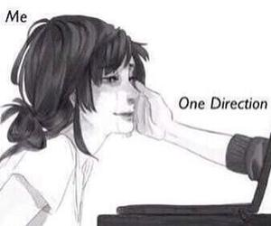 one direction, me, and 1d image