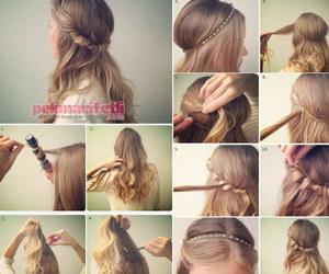 değişik saç modelleri, kolay saç modelleri, and günlük saç modeli image