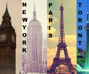 london, paris, and toronto image