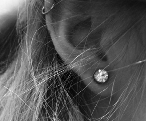 at, beautiful, and earring image