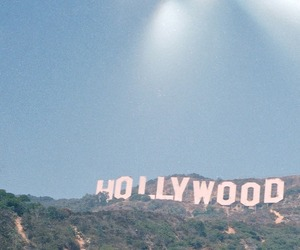 hollywood, america, and california image