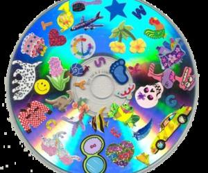 grunge, cd, and hologram image