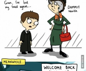 harry potter, funny, and neville image