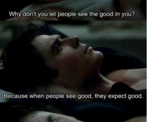 ian somerhalder, quotes, and the vampire diaries image