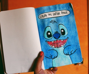 stitch, wreck this journal, and cute image