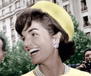 pearls, vintage, and jackiekennedy image