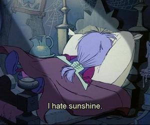 sunshine, hate, and disney image
