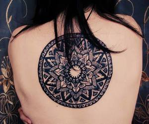awesome, tatto, and flower image