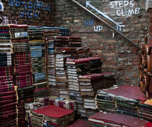 book, stairs, and hipster image