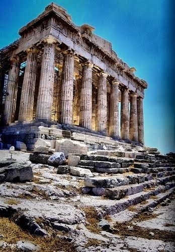 ancient, Greece, and parthenon image