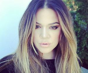 khloe, kardashian, and hair image