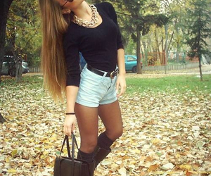 autumn and outfit image