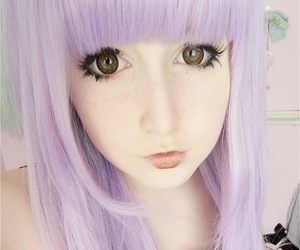 girl, pastel goth, and cute image