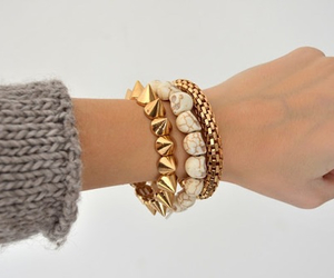 fashion, bracelet, and style image