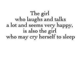 girl, cry, and quotes image