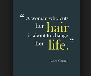 hair, chanel, and coco chanel image