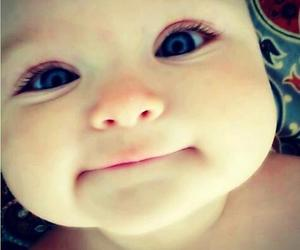 baby, cute, and eyes image