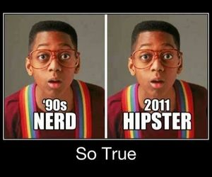 90's, awesome, and nerd image