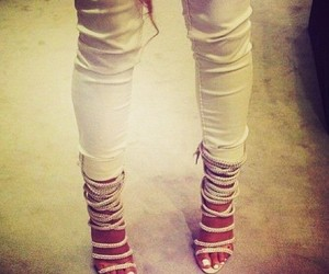 fashion, heels, and white image