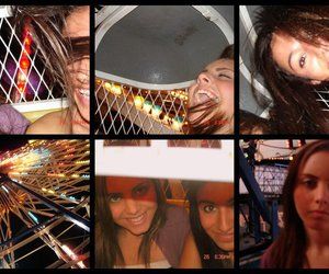 carnival, girls, and ride image