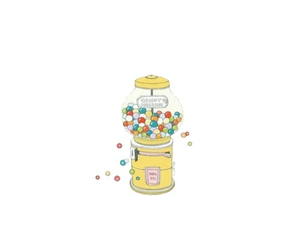 bubble gum, transparent, and overlays image