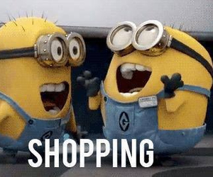 funny, me, and shopping image