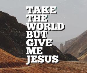 jesus, faith, and god image
