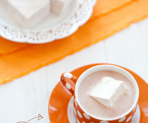 cappuccino, chocolate, and coffee image
