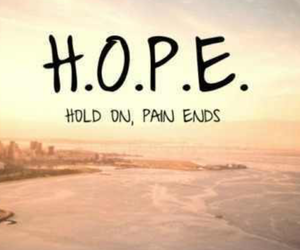 be strong, hope, and faith image